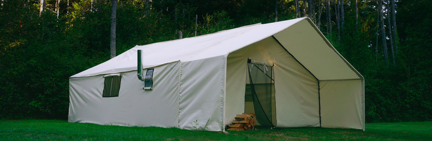 High quality and durable wall tents