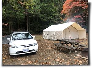 Capital Canvas customer Ryan Muyres shares a shot of his great camp setup.